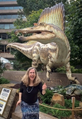 Spinosaurus on the loose