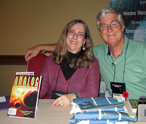 Rosemary Claire Smith and Rick Wilbur at WFC